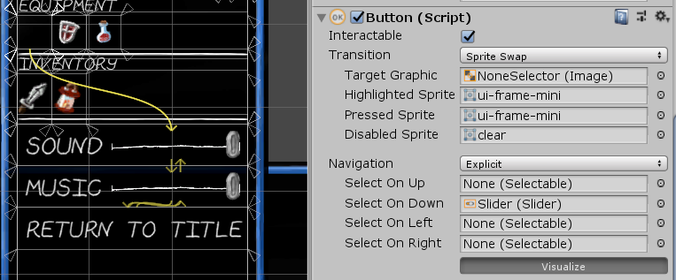 Stupid Unity UI Navigation Tricks | dylanwolf com